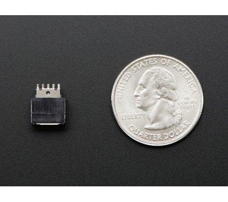 Conector USB DIY - Ficha Micro USB B Fêmea