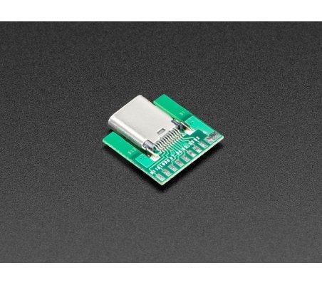 Módulo USB C Fêmea | Ficha USB |