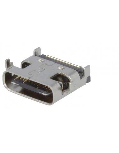 Ficha USB C para PCB | Comunicações |