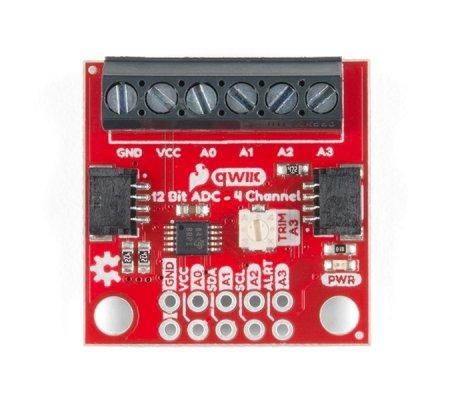 SparkFun Módulo ADC 12 Bits Qwiic - 4 Canais (ADS1015)