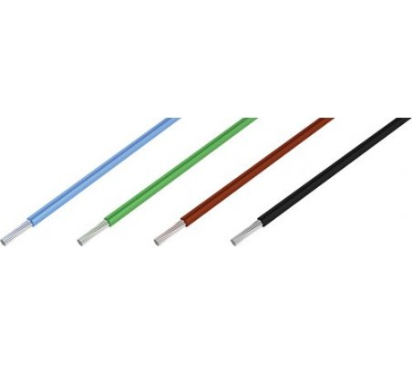 Fio Multifilar Vermelho 30AWG 0.5mm - 1m