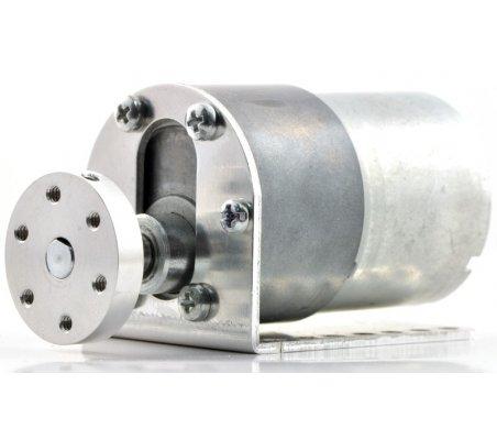 Pololu Universal Aluminum Mounting Hub for 6mm Shaft - M3 Holes | Hub's e Suportes | Pololu