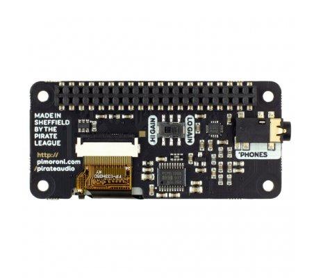 Pirate Audio: Amplificador de Auscultadores p/ Raspberry Pi PTR008178