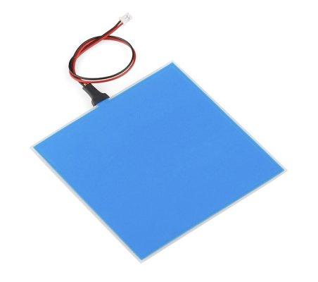 Painel Eletroluminescente (EL) Azul - 10x10cm | Produtos |