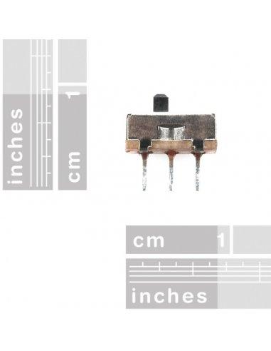 Interruptor Deslizante SPDT 2.54mm | Slide switch |