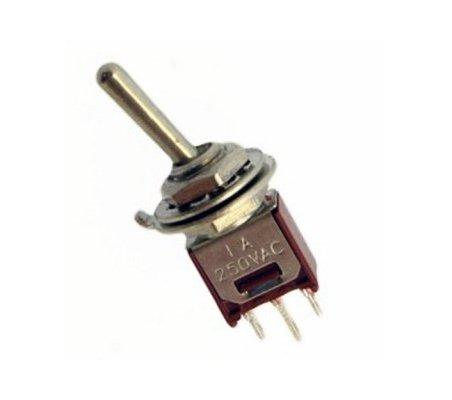Mini Interruptor Toggle SPDT - 250V 1A | Toggle Switch |