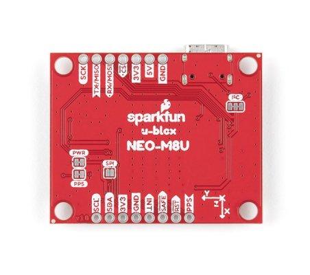 SparkFun Módulo GPS - NEO-M8U (Qwiic)