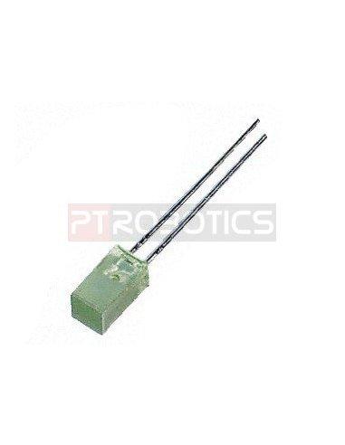 Led 5mmx5mm Verde | Led Standard |