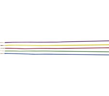 Fio Multifilar H05V-K 1mm² Amarelo - 1mt