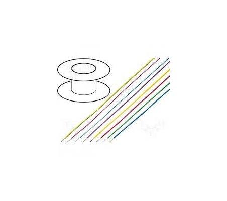 Fio Multifilar H05V-K 1mm² Vermelho - 1mt   Fio electrico  