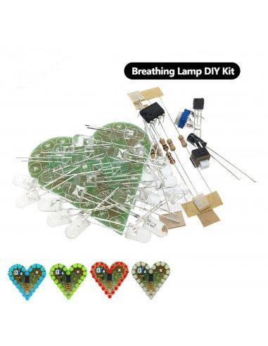 Kit de Eletrónica LED DIY - Coração
