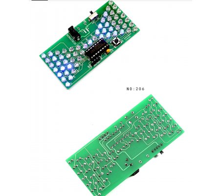 Kit de Eletrónica LED DIY - Ampulheta