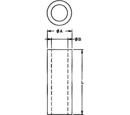 Espaçador Nylon 3mm M3