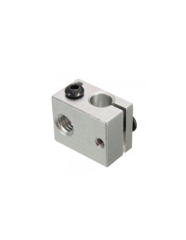Bloco de Aquecimento em Alumínio para Extrusor de Impressora 3D | Material Impressão 3D |