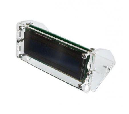 Moldura em Acrílico para 16x2 LCD | Produtos |