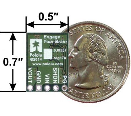 Regulador de Tensão Step-Down 12V, 1A - D24V10F12   Alimentação  