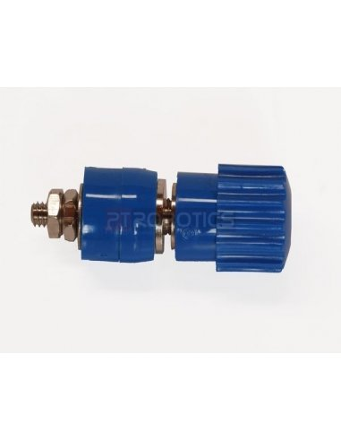 Isolated binding post - Blue- 4mm - 24A | Teste e Medida |