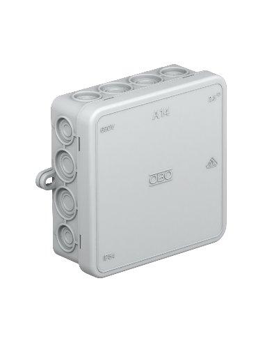 Caixa de Junção IP55 - Cinzenta -100x100x40mm | Caixas de Aparelhagem |