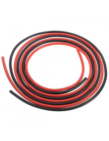 Fio de Silicone 14AWG 1mt - Vermelho