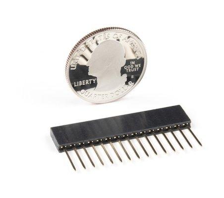 Arduino Nano Stackable Header - 15 pinos