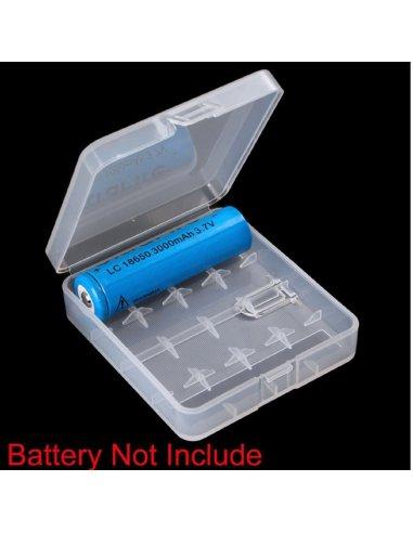 Caixa para 4 Baterias 18650