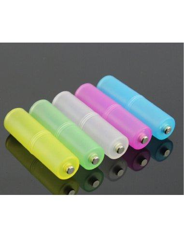 Adaptador de Pilha AAA para AA | Carregador de Baterias |