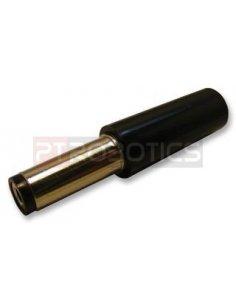 Plug 2.1mm Black Long