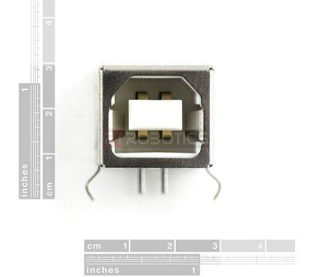 USB Female Type B Connector | Ficha USB |