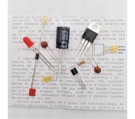 Electrónica Essencial - Reguladores de Tensão Fixa 7805 e LP2950-33 | Electronica Essencial |