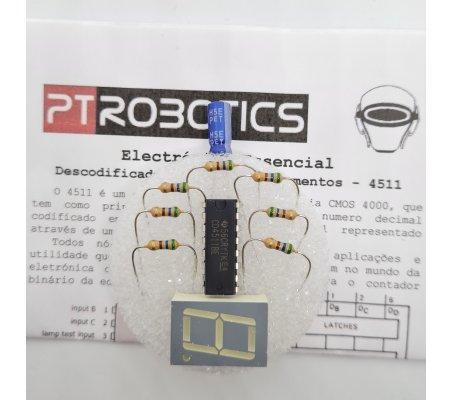 Electrónica Essencial - Descodificador BCD para 7-Segmentos - 4511