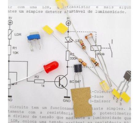 Sensor de Luz - Eletrónica Essencial