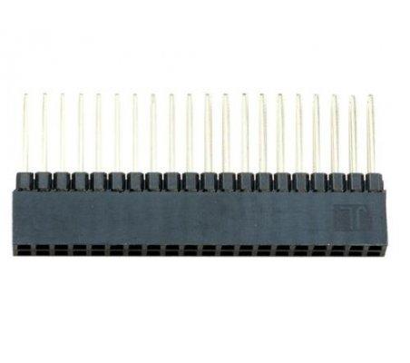 Conector Fêmea de 2x20 pinos Extra Alto   Headers e Sockets  