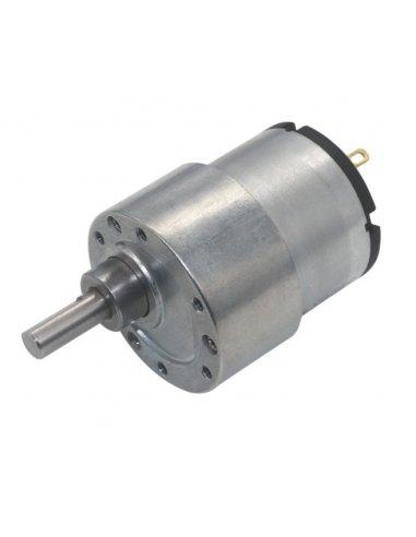 Motor com Caixa Redutora 24V 45rpm - JGB37-520   Motor DC com Engrenagens  