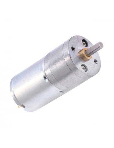 Motor com Caixa Redutora 12V 6rpm - JGA25-370