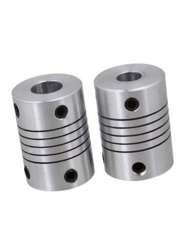 Acoplador Mecânico Flexível 5x6x25mm para Impressão 3D | Material Impressão 3D |