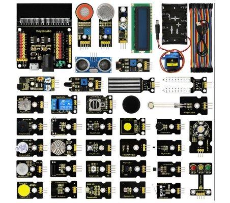 Kit de Iniciação com 37 Sensores para Micro:bit Keyestudio