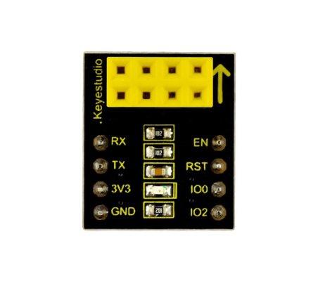 Adaptador ESP-01S para Módulo WiFi ESP8266 Keyestudio