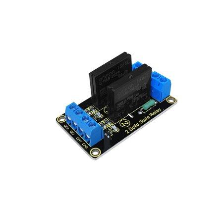 Módulo de Relé de Estado Sólido 2 Canais para Arduino Keyestudio