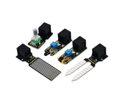 Kit de Iniciação com 21 Sensores e Arduino com Ligação Easy Keyestudio