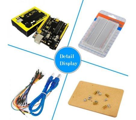 Kit de Iniciação Básico com Arduino Uno Keyestudio