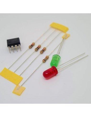 Voltímetro para circuitos a 3.3V e 5V - Eletrónica Essencial