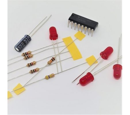 Oscilador, Contador e Divisor Binário 4060 - Eletrónica Essencial