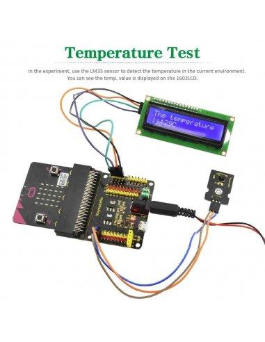 Kit de Iniciação com 45 Sensores para Micro:bit Keyestudio