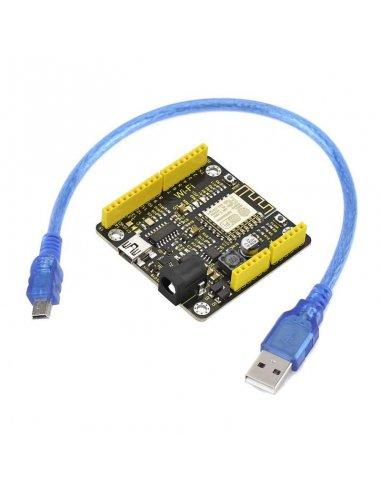 Placa de Desenvolvimento WiFi ESP8266 Keyestudio   Comunicação Arduino  