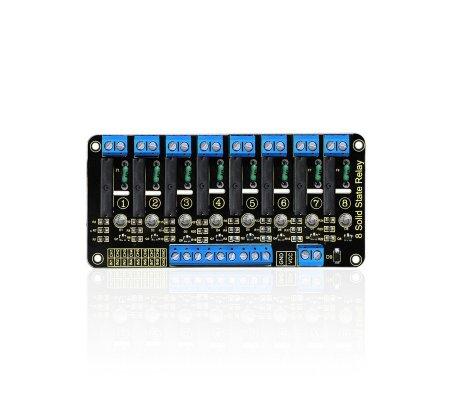 Módulo de Relé de Estado Sólido 8 Canais para Arduino - Keyestudio