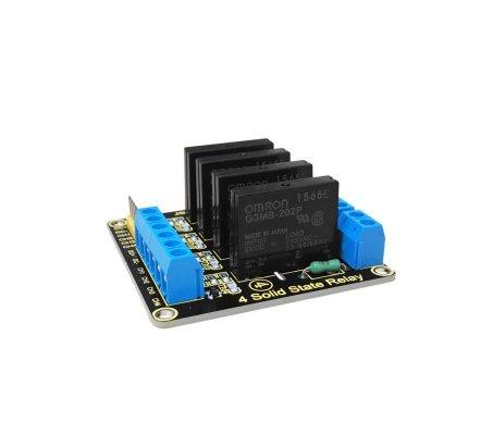 Módulo de Relé de Estado Sólido 4 Canais para Arduino Keyestudio | Relé Arduino |