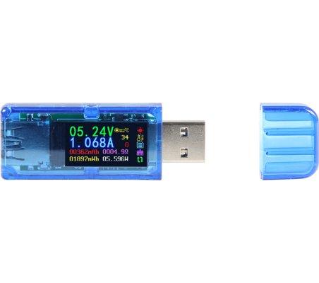 Multímetro USB AT-34