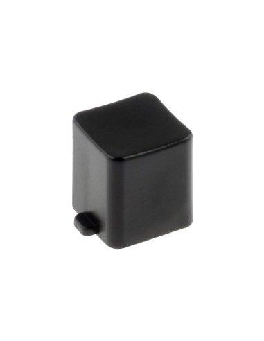 Tecla para Interruptor de Pressão DPDT 8x8mm - Preta | Push Button |