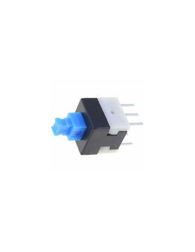 Interruptor de Pressão DPDT 8x8mm 100mA 30Vdc | Push Button |