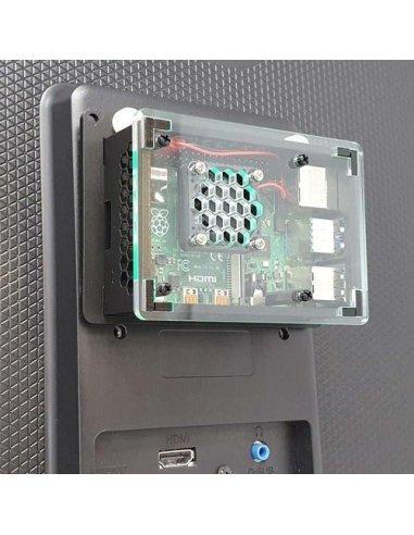 Suporte de Fixação VESA para Raspberry Pi   Caixas Raspberry pi  